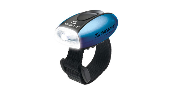 SIGMA SPORT Micro LED Lampe mit weißer LED blau